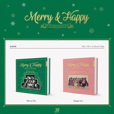 Twice - Merry and Happy [1st Album Repackage]