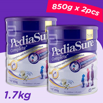 Pediasure Complete Vanilla / Chocolate Milk Powder 850g x2 pc = 1.7KG