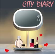 Magical Led Makeup Mirror Lamp Cosmetic Organizer Multifunction Led Mirror Table Lamp