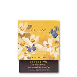 [OSULLOC]★Jeju Tangerine flower Blending Tea 1.5g x 10 pcs★  Korea High Quality Osulloc /  grean tea / tea time / Food [HowRU OSU_TEA_010] / Chirstmas