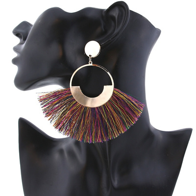 Fangnuo Jewelry Womans Necklace with Alloy Pendant and Tassel