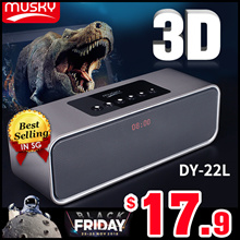 ◎ BEST SELLER!◎Musky HIFI DY22L Bluetooth Speaker◎Dual Speakers High-Power Bass Surround Sound