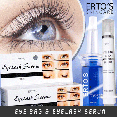 eb631aabbab Qoo10 - ERTOS eye bag serum / erto eyelash (BPOM 100% ORIGINAL ...