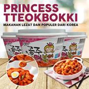 Princess Tteokbokki _ 230gr (instant)  Makanan Lezat dan Populer dari Korea