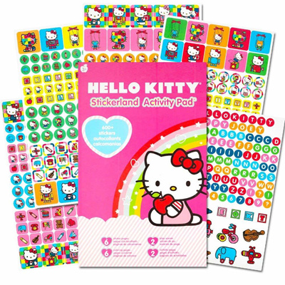 a5a93f270 Qoo10 - Hello Kitty Stickers Party Favor Pack (624 Stickers) : Toys