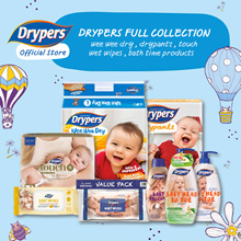 [DRYPERS OFFICIAL][Free Shipping with tracking]Drypers Wee Wee Dry / Drypantz / Touch Diapers Carton