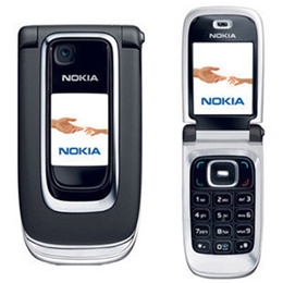 Nokia / Nokia 6131 genuine original camera flip standby big button large font the old man mobile pho