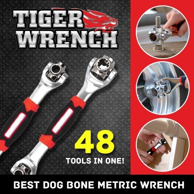 Tiger Wrench 48 In 1 Best Dog Bone Metric As Seen On Tv