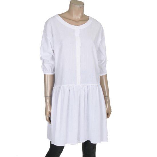 ディデムソリッドラウンドワンピースLW1603502 面ワンピース/ 韓国ファッション