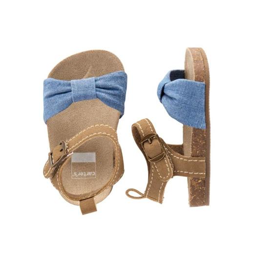 Carters Cork Sandal Baby Girl Shoes