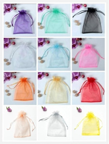 Organza Drawstring Pouches/Organza Bag/Gift Bag/$0.18-9x12xcm/$0.20-10x15cm/$0.25-13x18cm/S$0.30-16x