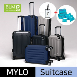 FREE Pouch and Name Tag/Milo/Cube Travel Luggage/ABS/Sturdy/20/24/28/Hardshell/Storage/Trolley/Bag