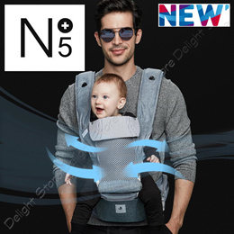 POGNAE Korea NO.5 PLUS Baby Toddler Carrier Hip Seat Infant Kid Strap Belt