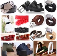 New stock Fashion leather belt for men Ladies belts Lowest Price!Korean Style classic men belts buck