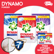 [PnG] FREE DYNAMO SAMPLES and ORAL B MOUTHRINSE Dynamo POWDER 3.3KG/3.6KG Red/ TOD/Color Care