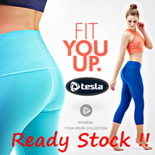 ★SEP UPDATE★TESLA YOGA PANTS★ Women Yoga Leggings Capri Long Pants/Tank top/Fitness  wear/pilates