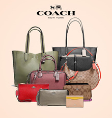 [COACH] From USA Official Store / 240 STYLE Women Wallet Bag Collection / All stock