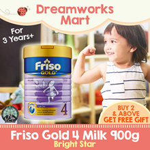 Friso Gold 4 Milk Bright Star (3Years+) 900g - NEW PACKING