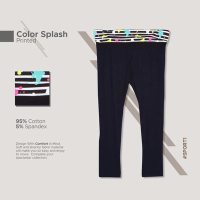 Yoga Long Pants_Slash Color