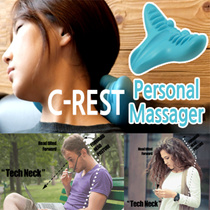 C-rest Personal Massager/ Relieve Pain & Get Weight off your Shoulder w/ C-REST