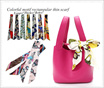 buy 3 get 1 free◆Twilly ◆Color   scarf   scarves◆Hair band hair rope ◆ for  bag Scarf◆capsule/bursa/
