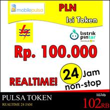 [mobilepulsa] Token Pulsa PLN Rp. 100.000- REALTIME 24 JAM non-stop! (Mohon baca cara pengisian di bawah)