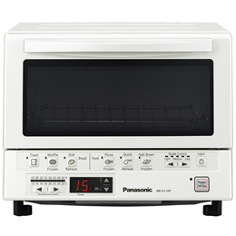 Panasonic Toaster Oven NB-G110P FlashXpress with Double Infrared Heating and Removable 9-Inch Inner