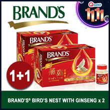 [11.11 SPECIAL] [100% GENUINE BIRD NEST] BRANDS Birds Nest American Ginseng