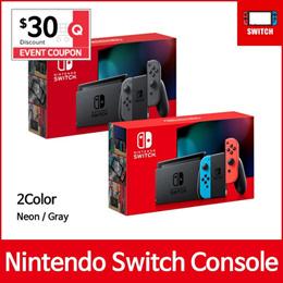 [Ready Stock]  Nintendo Switch Console Grey / Neon