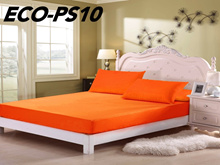 580 Thread Coun Plain Colour Single Size fitted bedsheet
