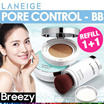 BREEZY ★ [LANEIGE] BB Cushion Collection SPF50+ PA+++ / Pore Control / Whitening / Anti-Aging / Brush Pact / Concealer / Makeup / Amorepacific / Korean Cosmetic / Korean Beauty