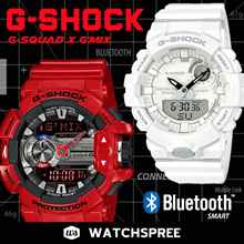 [APPLY 25% OFF COUPON] G-SHOCK Bluetooth® Watches Series! G MIX GBA400 G-SQUAD GBA800 Free Shipping!