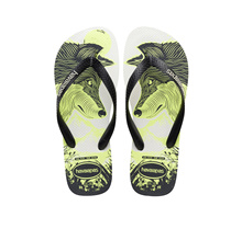 Havaianas 4 Nite 9480 (White/Black/Phosphorescent) [Mens]