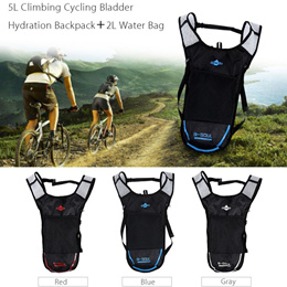 c27c163c07c B - SOUL 2L Water Bag 5L Bicycle Hydration Bladder Backpack Camping Hiking  Camelback