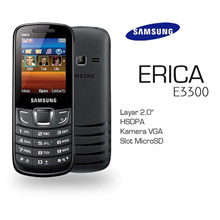 SAMSUNG E3309 ERICA | 2 INCH DISPLAY | STAND BY TIME UP TO 320 HOURS _ garansi resmi samsung indonesia SEIN