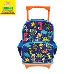 c286e39b6 Swan Kids Children School Bag (Robot) Kinder Carrier Bag Kindergarten Cute  Design