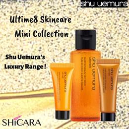 Shu Uemura Ultime 8 Skincare in Travel Size!