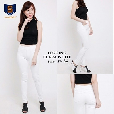 Legging Clara White