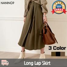 ★ Korea Fashion Business No.1 Naning9 ★ Free Shipping ♥ 2019 S / S NEW! Skirt / Zenmi Long Wrap Skirt