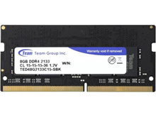 Team Memory Notebook 8GB DDR4 PC - 2133 - Hitam