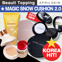 [APRILSKIN] ★ Magic Snow Cushion 2.0 ★ April Skin All Item Collection [Beauti Topping]