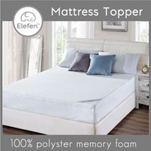 [Oculus Living] Elefen Luxury Memory Foam Mattress Topper / Single / S.Single / Queen / King