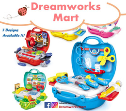Portable Suitcase Occupation Role / Pretend Play Toys Set for Kids [Local Seller | Ready Stock]