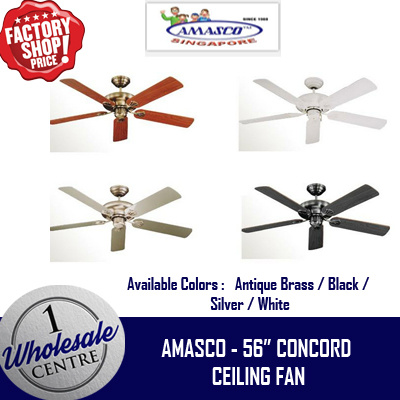 Qoo10 amasco ceiling fan home electronics f2c amasco concord 56 inch ceiling fan aloadofball Image collections
