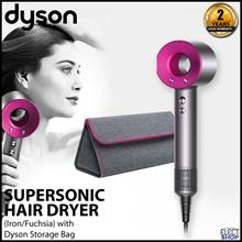 Dyson Supersonic Hair Dryer (Iron/Fuchsia) with Dyson Storage Bag