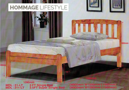 Solid Timber Bed Frame 311 Series