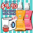 67% OFF - $9.90 ONLY method laundry detergent / 4 SCENTS AVAILABLE / made in USA