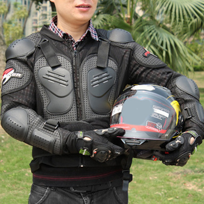 Cool Motorcycle Full Body Armor Motocross Racing Jacket Spine Chest  Protection