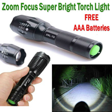 Direct Price! No option price increase! CREE XML T6 Brighter LED Torchlight Torch Light Flashlight