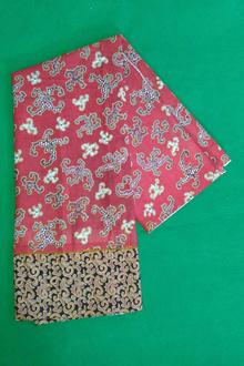 Bahan batik pink